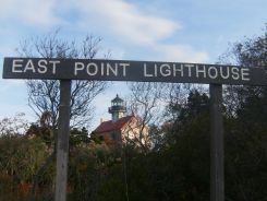 East Point Lighthouse Sign